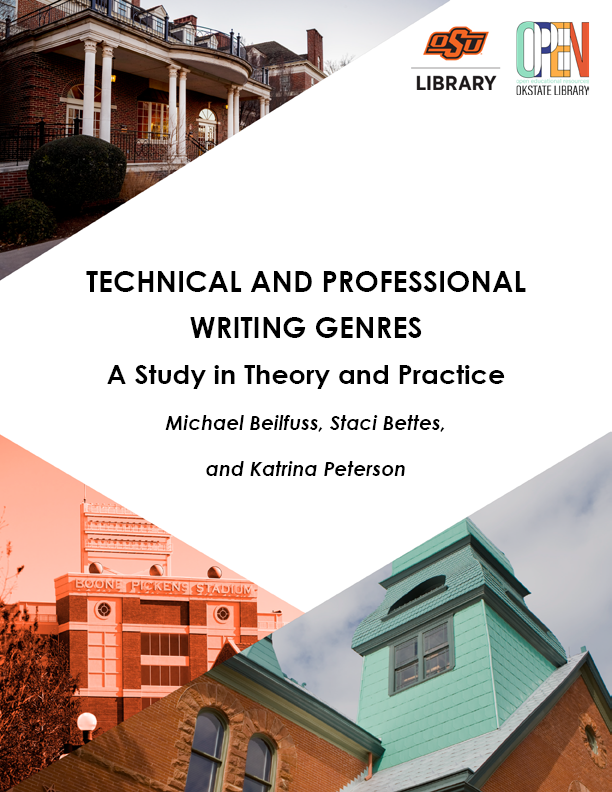 Cover image for Technical and Professional Writing Genres [Beta]