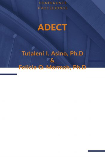 Cover image for ADECT 2019 Proceedings