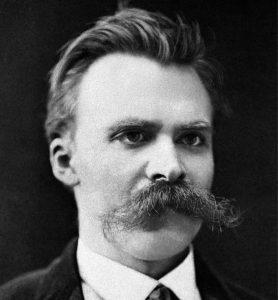 Portrait of Friedrich Nietzsche, circa 1875