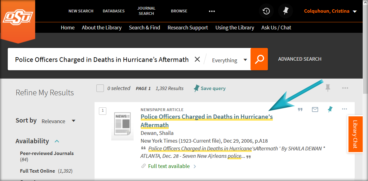 """Search result for """"Police Officers charged in deaths in hurricane's aftermath."""""""